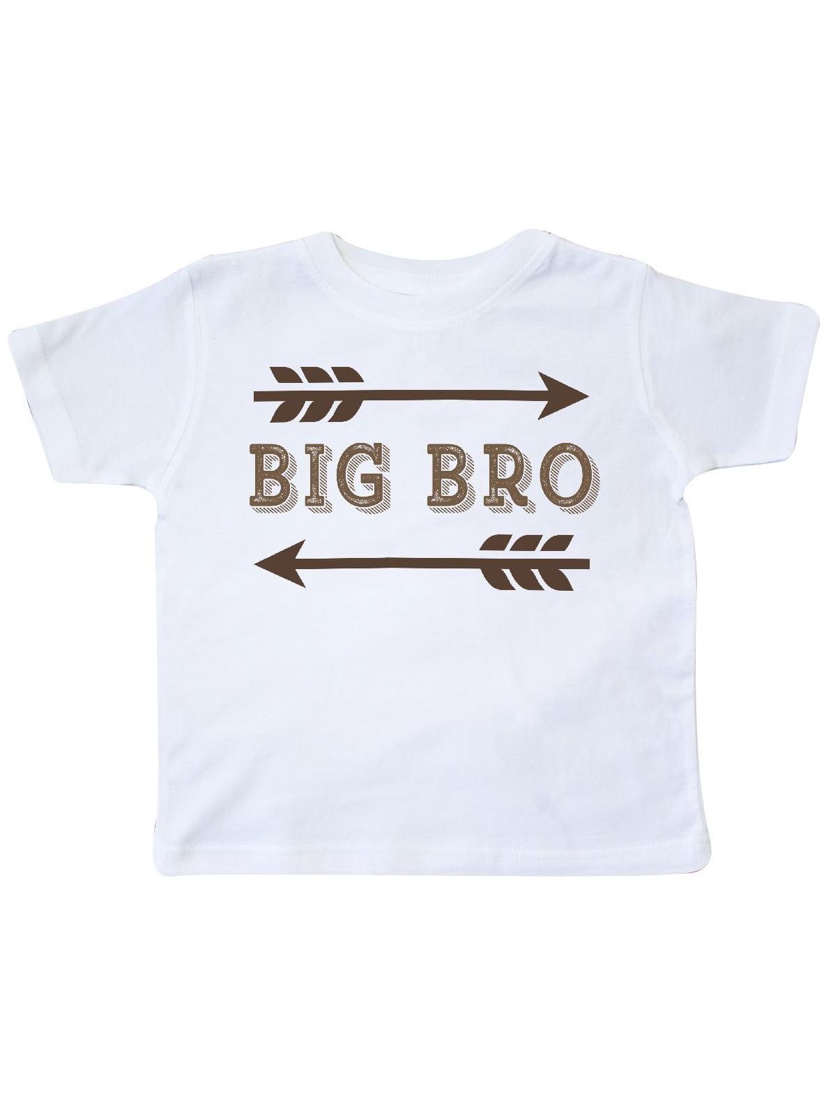 222b7354 Inktastic - Big Bro Siblings Cute Brother Toddler T-Shirt - Walmart.com