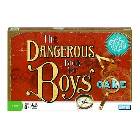 The Dangerous Book for Boys Game, The amazing adventure game based on the best-selling book By Parker Brothers Ship from