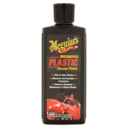Meguiar's Motocycle Plastic Cleaner/Polish, 6 fl oz
