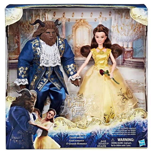 Hasbro HSBB9167 Disney Princess Beauty & the Beast Belle & Beast 2-Pack - Set of 3