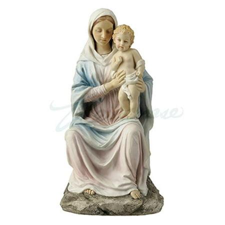 Unicorn Studios WU76029AA Mother Mary Holding Baby Jesus - Light ...