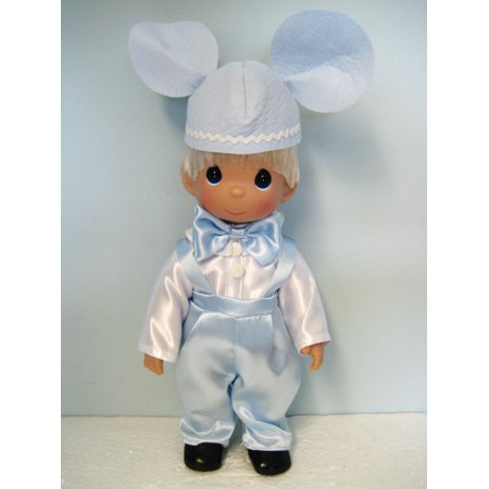 (Precious Moments Disney Precious In Pink Blonde Mickey Mouse Doll #5227)