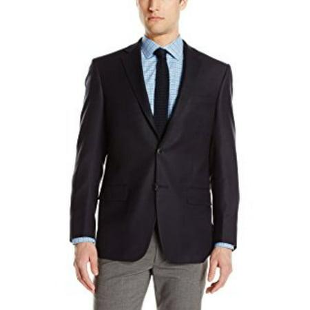 Hart Schaffner Marx Men's 2 Button New York Fit Side Vent Suit Jacket, 44 L ()