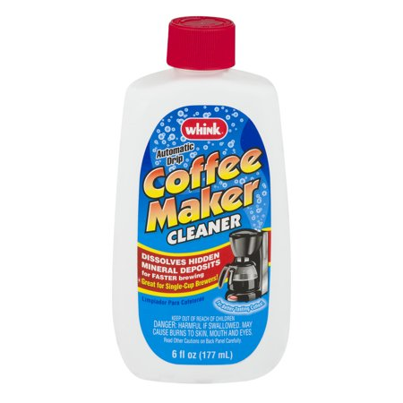 Whink Automatic Drip Coffee Maker Cleaner, 6.0 FL OZ - Walmart.com