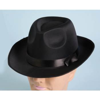 White Deluxe Fedora Halloween Costume Accessory (White Fedoras)