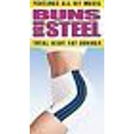 Steel Vhs - Buns of Steel Total Body Fat Burner (VHS, 1997)