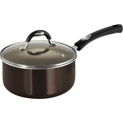 Tramontina 3-Qt Style Nonstick Sauce Pan with Lid, Bronze