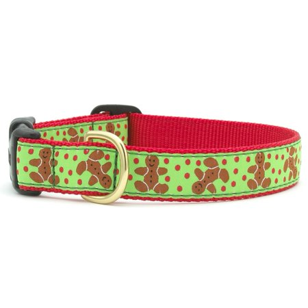 Gingerbread Man Dog Collar - Small (Male Puppy Collar And Leash)
