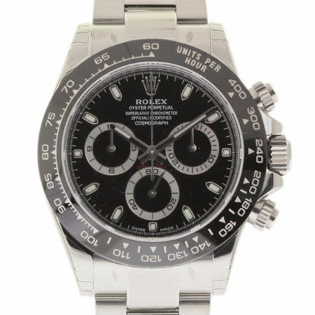 Pre-Owned Rolex Daytona 116500 Steel  Watch (Certified Authentic & Warranty) (Rolex Daytona)