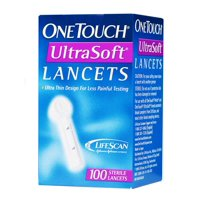 OneTouch Ultra Soft Lancets, 100 Count