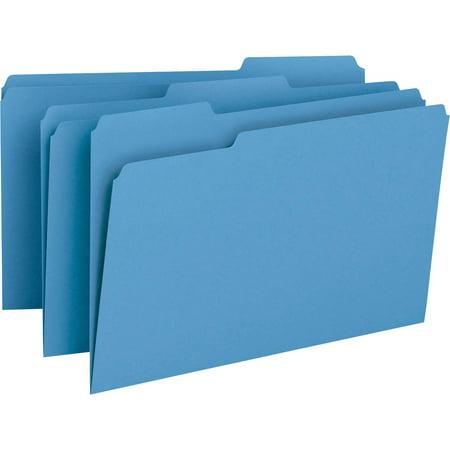 Smead File Folder, 1/3-Cut Tab, Legal Size, Blue, 100 per Box (17043)](Legal Size File Folders)