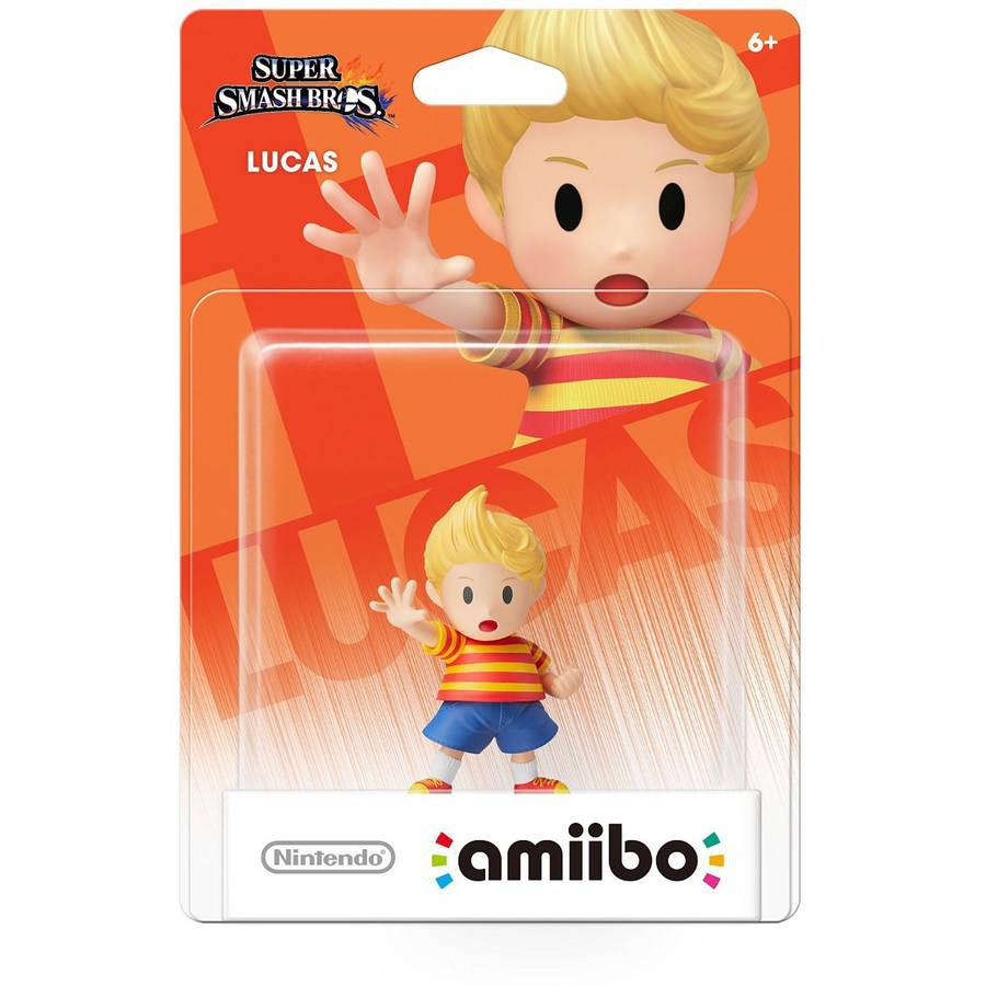 Lucas Super Smash Bros amiibo (Nintendo WiiU or Nintendo 3DS)