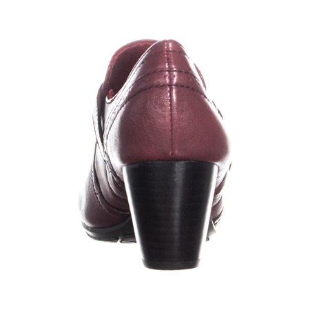 BareTraps Haydon Buckle Strap Low Ankle Boots, Burgundy - image 3 of 6