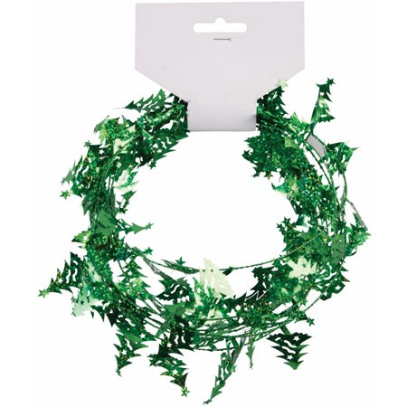 9 39 mini christmas tree garland hanging wall decoration How to hang garland on a christmas tree