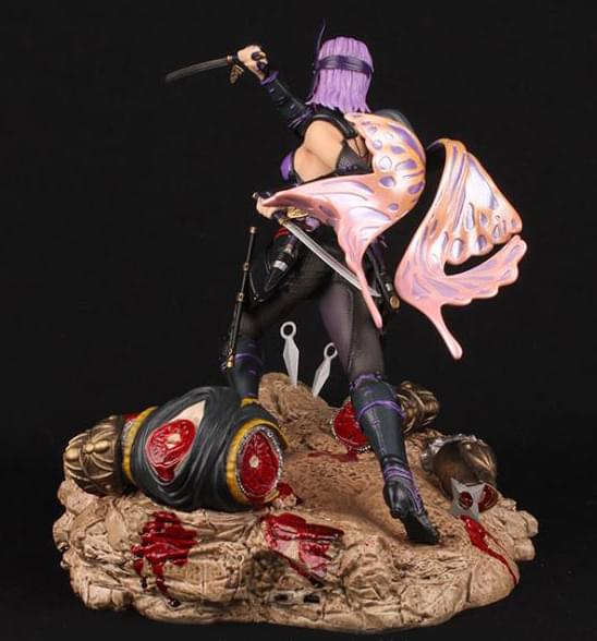 "Ninja Gaiden 3 13/"" 1:6 Scale Ayane Resin Statue With LED Lighting"