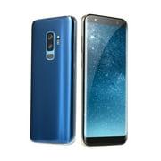 S9Plus Face Recognition 3G Smart Phone 2+16GB Fingerprint Unlock 6.1 Inch Screen Quad Core Cellphone 220V US Plug
