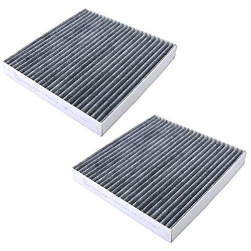 HQRP 2-Pack Carbon A/C Cabin Air Filter For Acura TL 2004