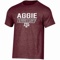 Men's Russell Athletic Maroon Texas A&M Aggies Slogan T-Shirt