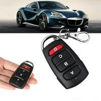 HERCHR Remote Control Key, Safe 433MHZ Wireless Remote Control Duplicator for Car Gate Garage Door, Garage Remote Control