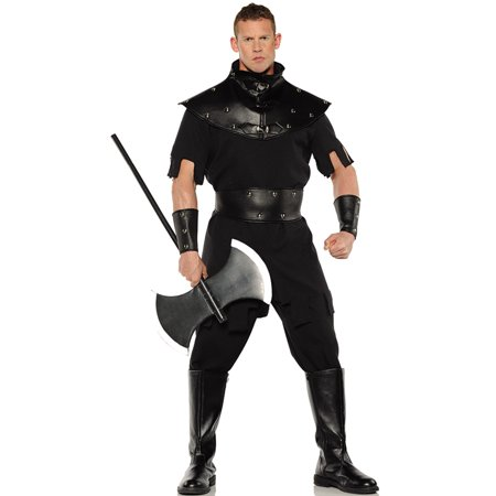 The Punisher Costumes (Punisher Mens Medieval Renaissance Executioner Halloween)