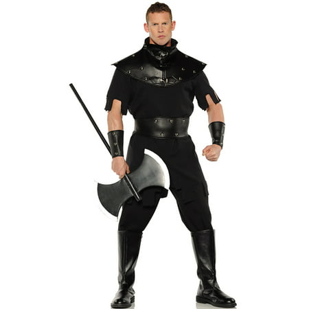 Punisher Mens Medieval Renaissance Executioner Halloween Costume