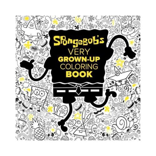 spongebob very grown up coloring book walmart com