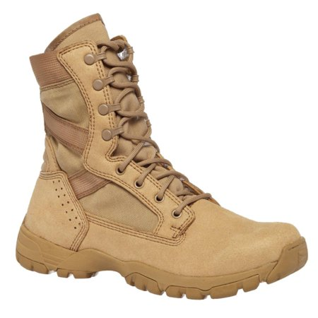 Belleville TR313 Tactical Research Flyweight II Desert Tan Hot Weather Boot (Hot Widow Boots)