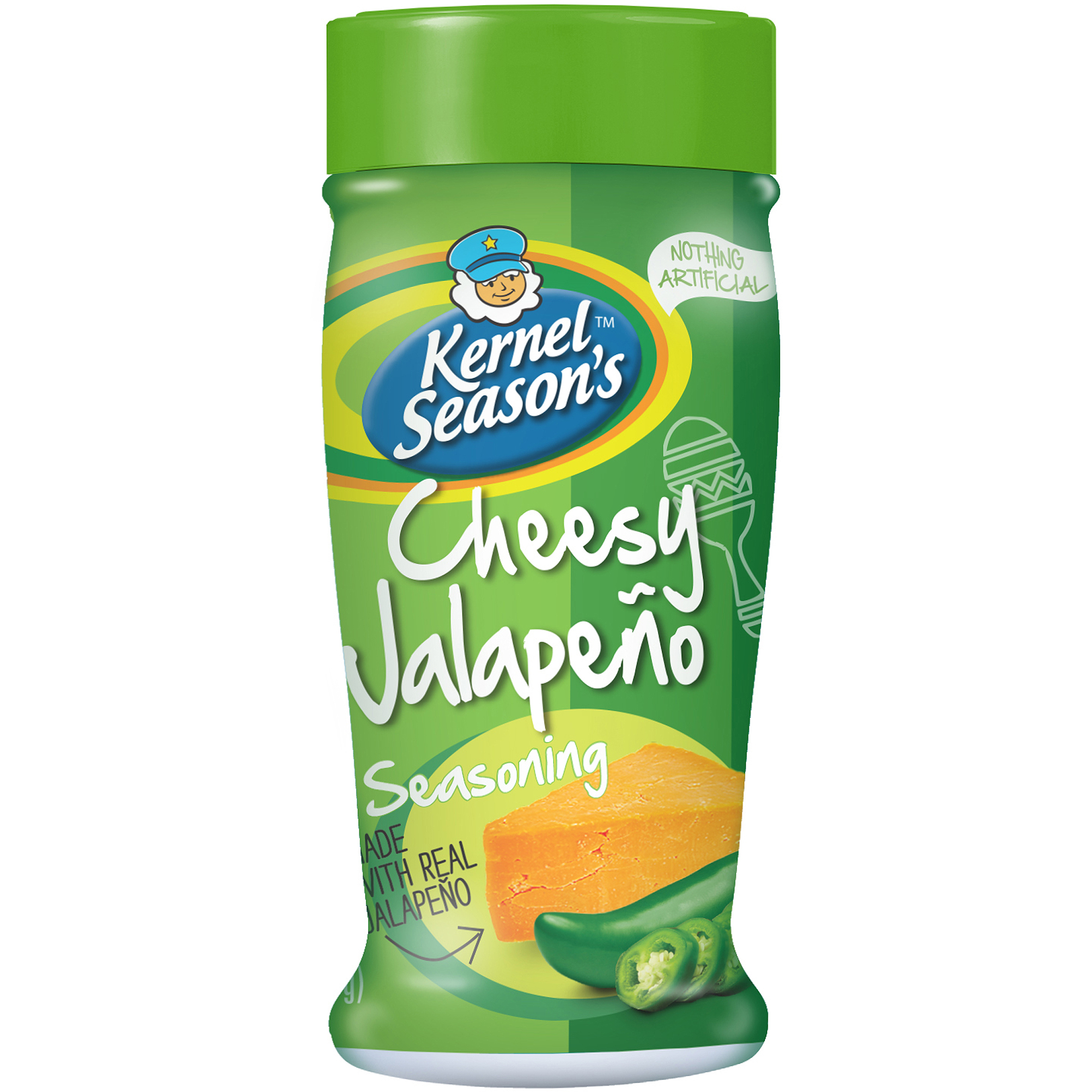 Kernel Season's Cheesy Jalapeno Seasoning, 2.4 oz