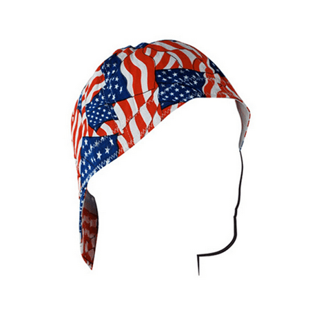 WELDERS CAP COTTON WAVY AMERICAN FLAG SIZE 7 0