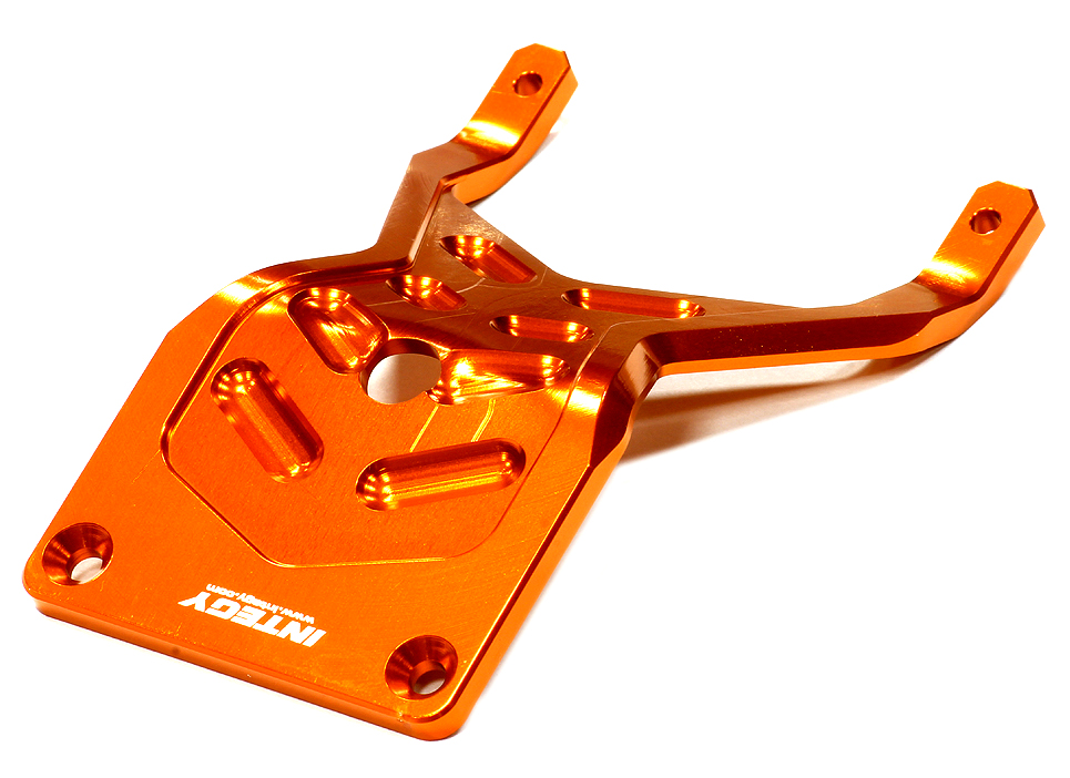 Integy RC Toy Model Hop-ups T8644ORANGE Billet Machined 4mm Front Skid Plate for Traxxas 1... by Integy