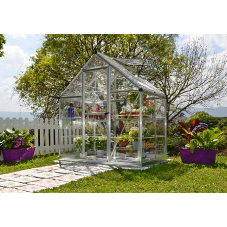 Palram Nature Series Harmony Hobby Greenhouse - 6 x 4 x 7