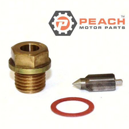 Peach Motor Parts PM-13370-28110  PM-13370-28110 Needle Valve Assembly; Replaces Suzuki®: 13370-28110
