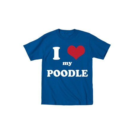 I Heart My Poodle Cute Fun Dogs Animals