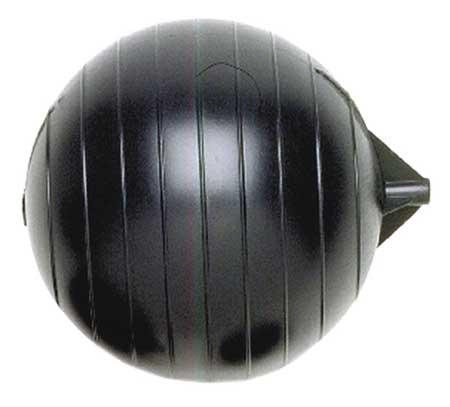 KERICK VALVE PF08-516 Float Ball, Round, Polyethylene, 8 In