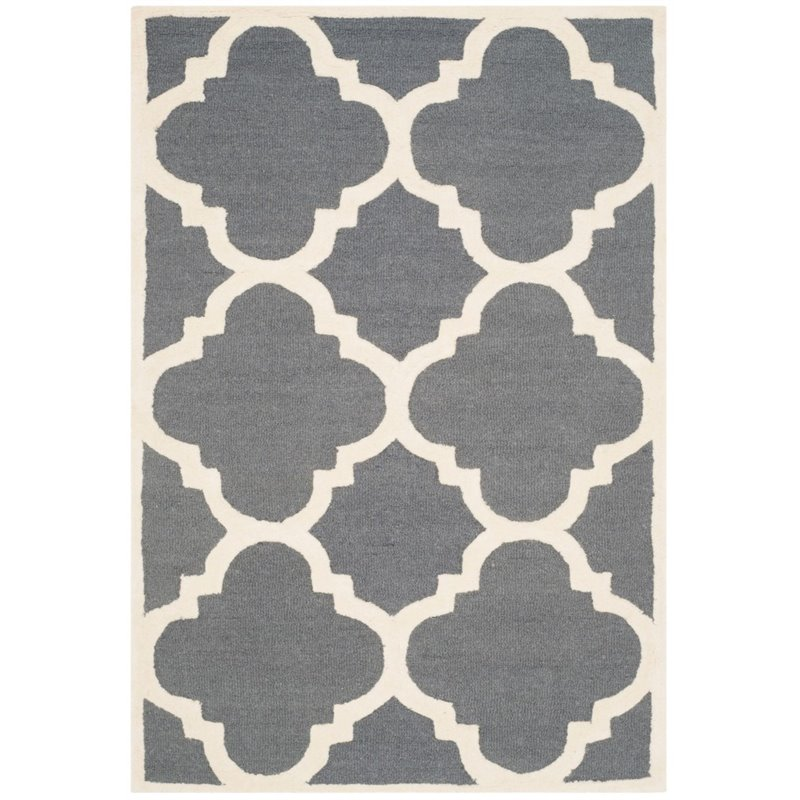 Safavieh Cambridge 9' X 12' Hand Tufted Wool Rug - image 8 of 10