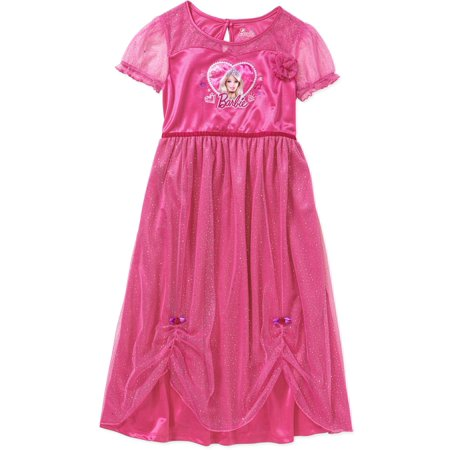 Komar Kids Big Girls' Barbie Dressy Gown