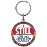 Beatles I Still Love The Beatles Metal Key Chain Silver