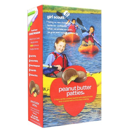 - Girl Scout Peanut Butter Patties Cookies 6.5 Ounce Box