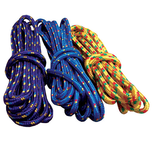Attwood 25' Braided Polypropylene Utility Line, Multi-Color