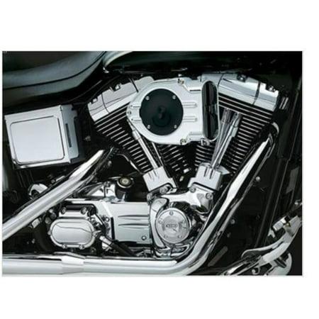 - Kuryakyn 8446 Standard Hypercharger - Chrome Trap Door and Chrome Butterflies