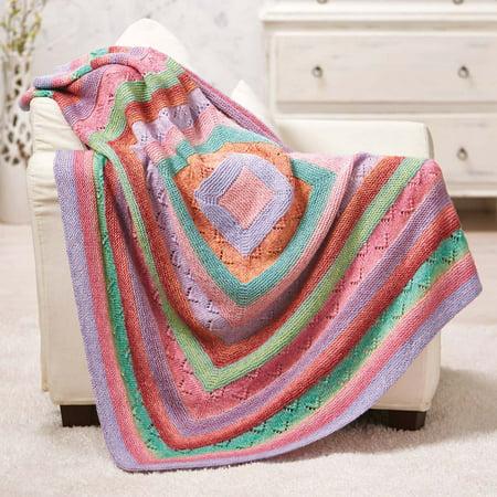 Throw Knitting Pattern (Laelia Throw Knit Pattern)