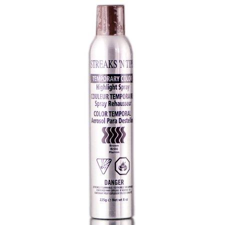 Highlight Spray - Streaks 'N Tips Temporary Color Highlight Spray - Brown