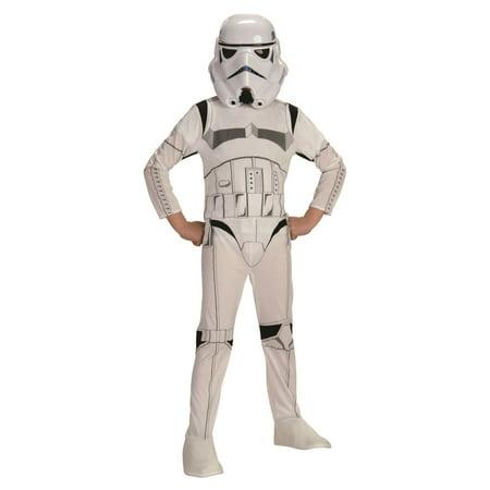 STORMTROOPER Star Wars dark side darth vader boys kids halloween costume MEDIUM - Stormtrooper Costume Women