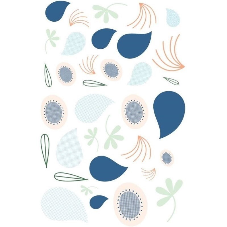 Babyletto Fleeting Flora Wall Decal in Multi-Color