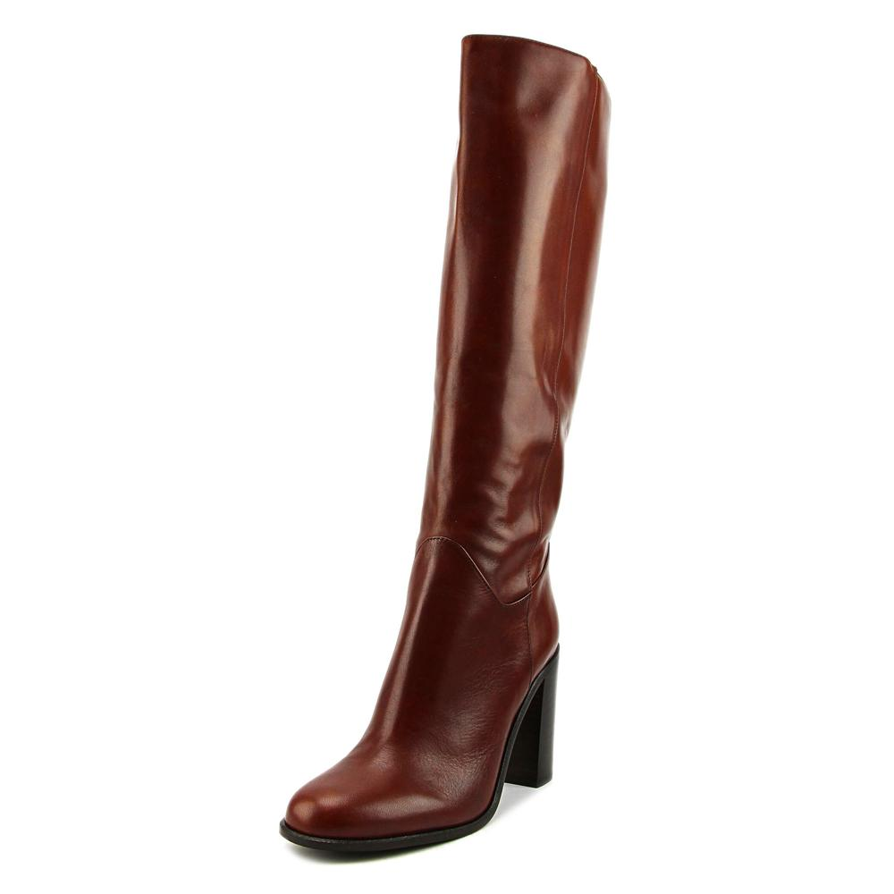 Kate Spade Baina Women Round Toe Leather Brown Knee High Boot by kate spade