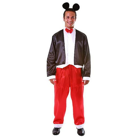 Mickey Mouse Costume Adult (Deluxe Adult Mr. Mouse Costume Set - Size)