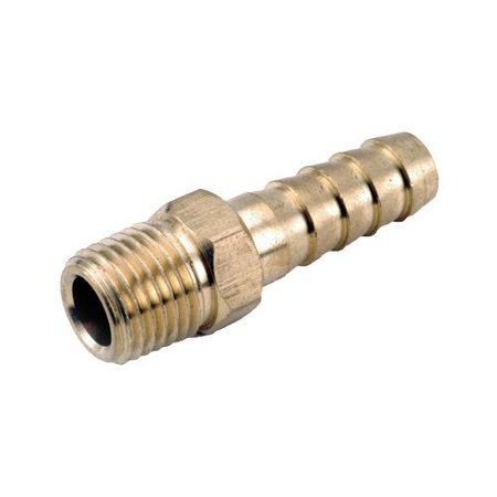 Anderson Metals 757001-0602 Pipe Fittings, Barb Insert, Lead-Free Brass, 3/8 Hose x 1/8-In. MPT (Mpt Barb Insert)