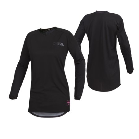 Oneal 2020 Womens Element Classic Jersey - Black/Black - Small