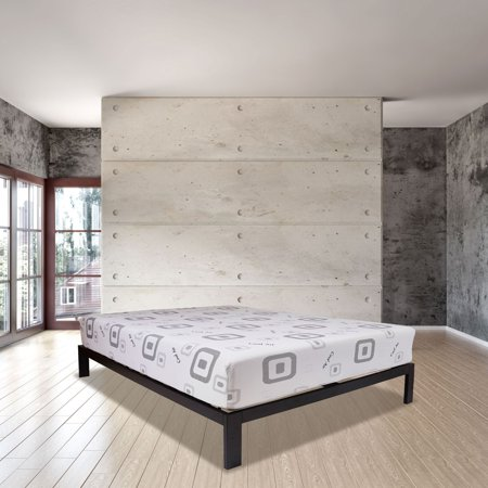 Harmony Wrapped Coil and Latex Hybrid Mattress and Platform Set