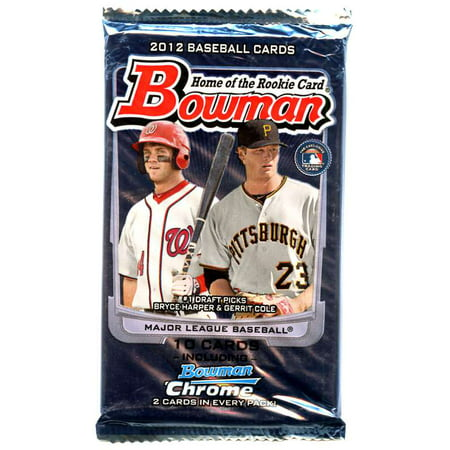 Mlb 2012 Bowman Baseball Cards Pack